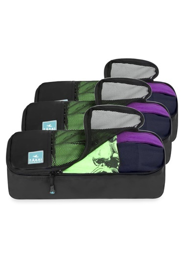 Fagel Travel 3Lü Slim Set Siyah